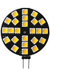 abordables -1pc 3.5 W 200 lm G4 LED à Double Broches 24 Perles LED SMD 5050 10-30 V