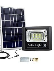 Недорогие -Новинка солнечная панель зарядки светодиодный свет 10 Вт открытый водонепроницаемый садовый фонарь прожектор уличный прожектор ночной датчик дистанционного