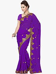 Недорогие -Индийская девушка Болливуд Взрослые Жен. азиатский Пайетки Churidar Salwar Suit Сари Назначение Выступление На каждый день Шелковая ткань Вышивка Воротник-шаль