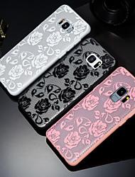 billige -Etui Til Samsung Galaxy S9 Plus / S9 Præget / Mønster Bagcover Blonde Tryk Hårdt PC for S9 / S9 Plus / S8