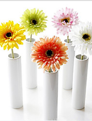 abordables -Fleurs artificielles 10 Une succursale Classique Traditionnel / Classique Style Simple Chrysanthème Fleurs éternelles Fleur de Table