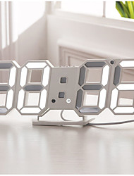 halpa -Kello Desk & Shelf Clocks Moderni nykyaikainen / Muoti Muovi Neliö