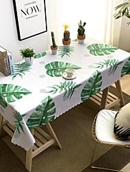 voordelige -Hedendaagse Informeel Acetaat Vierkant Tafellakens Met Patroon Opdrukken Waterbestendig Tafeldecoratie 1 pcs