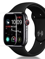 Недорогие -Защитная плёнка для экрана Назначение Apple Watch Series 4 PET HD / Ультратонкий 3 ед.