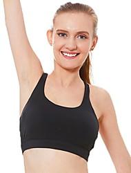 hesapli -Bayanlar Tam Kaplama Sutyenler Spor Sutyen Polyester Siyah M L XL
