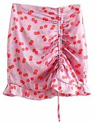 cheap -women's mini pencil skirts - fruit