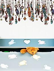 Χαμηλού Κόστους -Διακοσμητικά αυτοκόλλητα τοίχου - Αεροπλάνα Αυτοκόλλητα Τοίχου Αφηρημένο Υπνοδωμάτιο / Δωμάτειο Μελέτης / Γραφείο