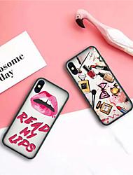 Недорогие -Кейс для Назначение Apple iPhone XR / iPhone XS Max С узором Кейс на заднюю панель Соблазнительная девушка / Мультипликация Твердый ТПУ / Акрил для iPhone XS / iPhone XR / iPhone XS Max