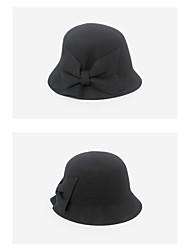 ราคาถูก -ขนสัตว์ หมวก กับ ปมผ้า 5 ชิ้น สวมใส่ทุกวัน หูฟัง