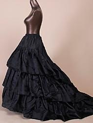 Недорогие -Нижняя юбка пачка Под юбкой 1950-е года Черный Нижняя юбка / Кринолин