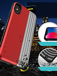 Недорогие -Кейс для Назначение Huawei Huawei P20 / Huawei P20 lite Бумажник для карт / Защита от удара / со стендом Кейс на заднюю панель Геометрический рисунок / броня Твердый ПК
