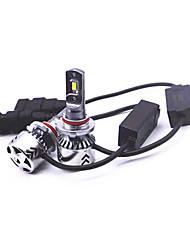 Недорогие -2pcs 9005 Автомобиль Лампы 45 W 6000 lm 6 Светодиодная лампа Налобный фонарь Назначение Toyota LS2 / Accord / Excelle Все года