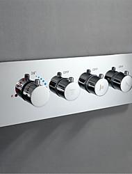 preiswerte -Wasserhahn Zubehör - Gehobene Qualität - Moderne Messing Thermostatisches Regelventil - Fertig - Chrom