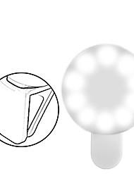 Недорогие -10 шт. USB аккумуляторная 100 мА новинка сотовый телефон камеры кольцо селфи заливки светодиодные вспышки заполнить свет для iphone ios android смартфон