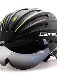 Недорогие -CAIRBULL Взрослые Велошлем с защитной маской Аэрошлем 28 Вентиляционные клапаны CE EN 1077 Ударопрочный Вентиляция Сетка от насекомых прибыль на акцию ПК Виды спорта Шоссейные велосипеды -