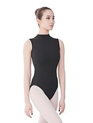 economico -Danza classica Body Per donna Addestramento / Prestazioni Cotone Più materiali Senza maniche Calzamaglia / Pigiama intero