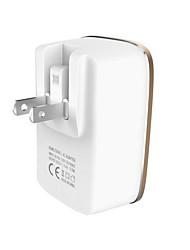 Недорогие -Зарядное устройство USB SR-7202FW 3 Настольная зарядная станция ЖК дисплей / Новый дизайн / С интеллектуальной идентификацией Стандарт США Адаптер зарядки