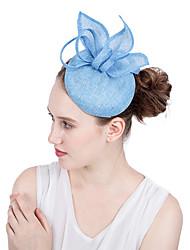 ราคาถูก -Flax fascinators / ดอกไม้ / เครื่องสวมศรีษะ กับ ชั้น 1 ชิ้น งานแต่งงาน / งานปาร์ตี้ / งานราตรี หูฟัง