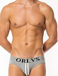 preiswerte -Herrenslip Unterwäsche - Druck in der Mitte der Taille