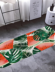 abordables -1pc Rustique Tapis Anti-Dérapants Corail Velve A Fleur 5mm Antidérapant / Design nouveau / Facile à nettoyer