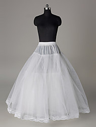 cheap -Bride 1950s Costume Classic Lolita Dress Women's Petticoat Hoop Skirt Crinoline White Vintage Cosplay Wedding Party Princess