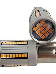 Недорогие -OTOLAMPARA 2pcs BAU15S Автомобиль Лампы 33 W SMD 3020 2640 lm 66 Светодиодная лампа Лампа поворотного сигнала Назначение Volkswagen / Toyota / Fiat Aurora / Sentra / Quest 2019