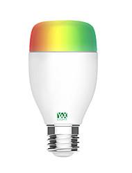 Недорогие -ywxlight®1pc 5w 500-600lm e27 домашнее освещение энергосберегающие экологически чистые с регулируемой яркостью alexa voice мобильный телефон wifi