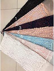 ราคาถูก -เลื่อมผ้ายืดหยุ่นกว้าง 128 ซม. สำหรับเจ้าสาวที่ขายตามลาน