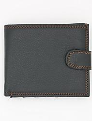 저렴한 -남성용 가방 우레탄 지갑 지퍼 용 쇼핑 / 일상 봄 여름 / 가을 겨울 블랙 / 브라운