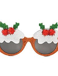 ราคาถูก -คริสมาสต์ อุปกรณ์พรรค แว่นตาโพร ขอบ พีซี Creative