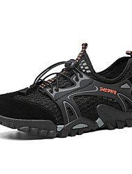 cheap -Men's Light Soles Mesh Summer Sporty / Casual Athletic Shoes Water Shoes / Upstream Shoes Breathable Black / Gray / Blue