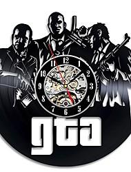 Недорогие -Grand Theft Auto полые круглые виниловые пластинки настенные часы