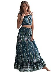 Недорогие -Жен. Из двух частей Платье На бретелях Макси