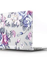 """Недорогие -MacBook Кейс Цветы ПВХ для MacBook Pro, 13 дюймов с дисплеем Retina / MacBook Air, 13 дюймов / New MacBook Air 13"""" 2018"""