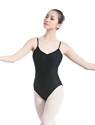 economico -Danza classica Body Per donna Addestramento / Prestazioni Cotone / Licra A fasce Senza maniche Calzamaglia / Pigiama intero