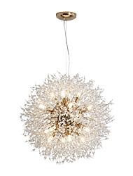 Недорогие -16-ламповые современные люстры с глобусом, фейерверк, подвесные светильники в нордическом стиле, гостиная, столовая, лампа g9