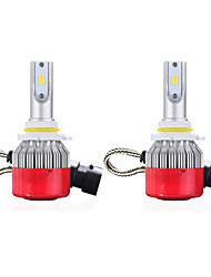 Недорогие -2pcs H7 / H4 / H3 Автомобиль Лампы 72 W 3600 lm Светодиодная лампа Противотуманные фары / Налобный фонарь Назначение Универсальный / Volkswagen / Toyota Все года