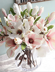 cheap -Artificial Flowers 2 Branch Classic European Simple Style Magnolia Tabletop Flower