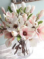 povoljno -Umjetna Cvijeće 2 Podružnica Klasični Europska Simple Style Magnolija Cvjeće za stol