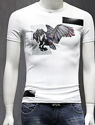 economico -t-shirt da uomo - girocollo animale