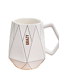 cheap -Drinkware Mugs&Cups Porcelain Boyfriend Gift / Girlfriend Gift Casual / Daily