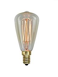 levne -1ks 40 W E14 ST48 Žlutá transparentní tělo Incandescent Vintage Edison žárovka 220-240 V