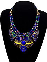 billige -Dame Vintage Halskæde Ensfarvet