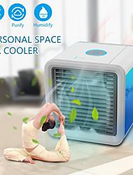 Недорогие -Вентилятор охлаждения воздуха Воздухоочиститель с USB-портами Пластик Включение / выключение
