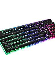 Недорогие -IMICE AK700 USB Проводной Игровые клавиатуры Игры Мульти цвет подсветки 104 pcs Ключи