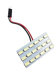 Недорогие -1pcs Автомобиль Лампы 2.8 W SMD 5630 18 Светодиодная лампа Внутреннее освещение Назначение Все года