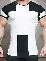 preiswerte -Herrn Buchstabe T-shirt