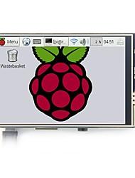 Недорогие -модель Raspberry Pi 3B 3,5-дюймовый ЖК-дисплей с сенсорным