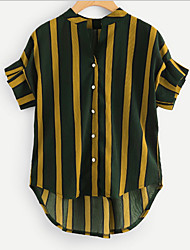 preiswerte -Damen Gestreift Hemd