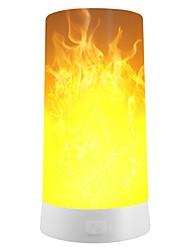 abordables -1pc LED Night Light / Lumière de secours extérieure de camping Blanc Chaud USB Rechargeable / 3 modes / Décoration Pile / 5 V